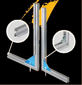Uniwersalny profil konstrukcyjny PA/PS 36x20 - lico elastyczne