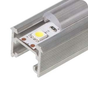 soczewka skupiająca - profile aluminiowe SAKORAMY