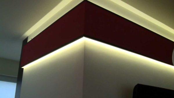 Podświetlane wnętrza